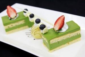 Cách làm bánh Green Tea Cheesecake ngon