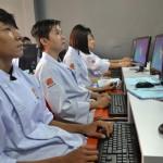 Một lớp tin học tại Hội Đầu Bếp Á Âu