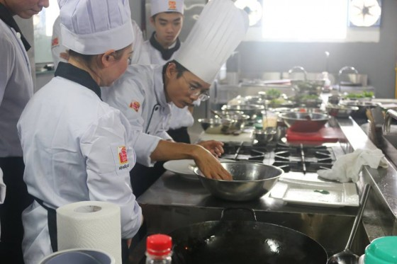 Các khóa học nấu ăn chuyên nghiệp tại Hội Đầu Bếp Á Âu