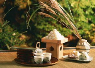 Bánh trung thu Nhật Bản – bánh Tsukimi Dango
