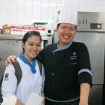 giao lưu cùng bếp trưởng New World