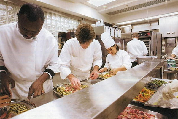 Đội ngũ nhà bếp của nhà trắng
