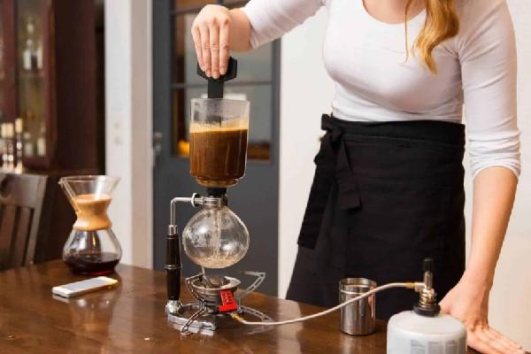 Syphon là dụng cụ pha cà phê