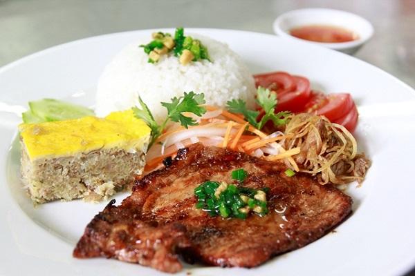 Hình ảnh cơm tấm Sài Gòn