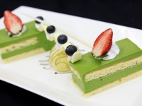 Hình bánh Green Tea Cheesecake