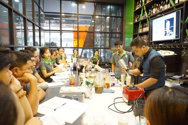 Trường dạy barista