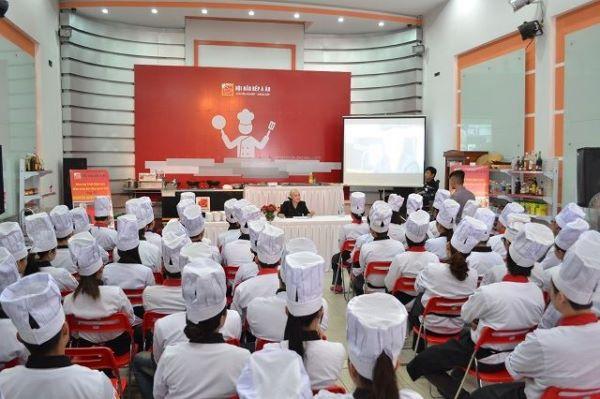 trường dạy nấu ăn hội đầu bếp