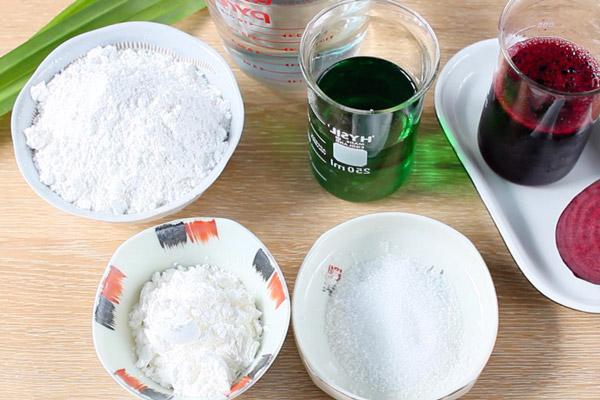 Nguyên liệu nấu chè trôi nước