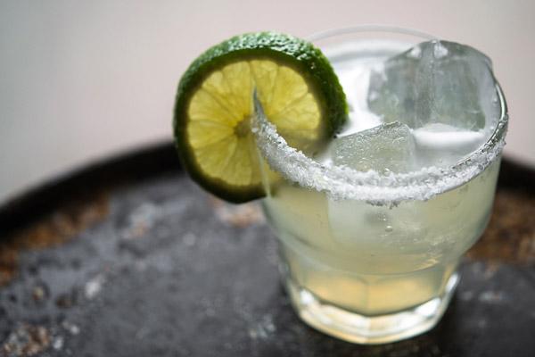 Cocktail Margarita với vị chanh