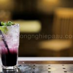 Mojito blueberry Việt Quất