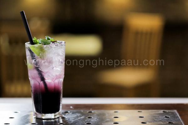 Mojito Blueberry việt quất