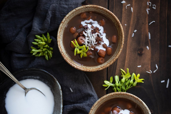 Cách nấu chè đậu đỏ hạt sen