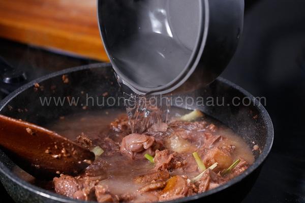 nấu lẩu vịt