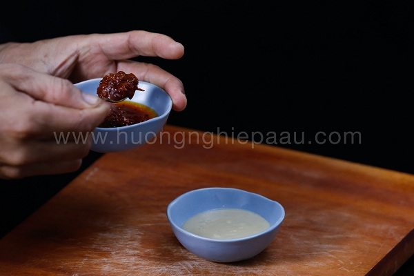 pha nước chấm chao sa tế