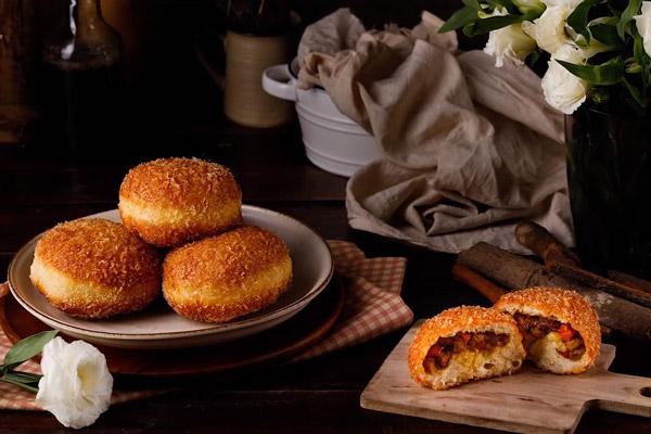 Bánh Mì Nhân Cà Ri Curry Bread