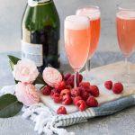 cocktail hibiscus va prosecco