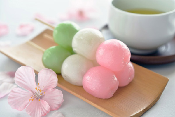 Bánh Hanami Dango