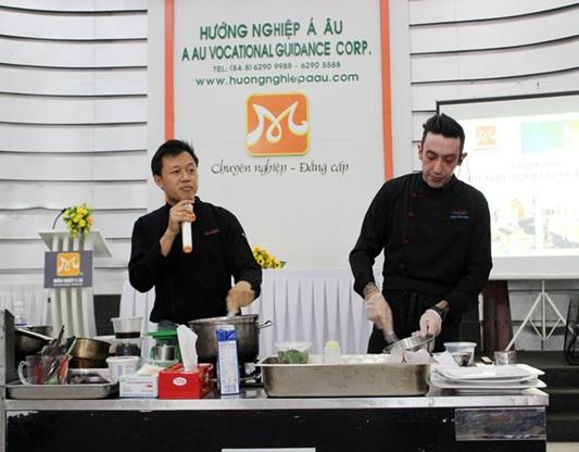 bếp trưởng Ivan Barone chia se bí quyết nấu ăn