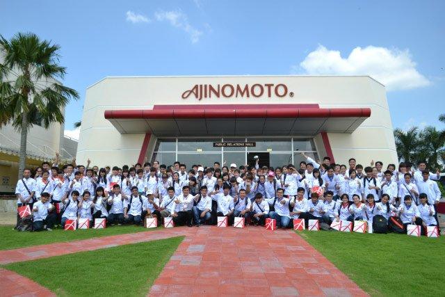 Tham gia tour tham quan nhà máy Ajinomoto