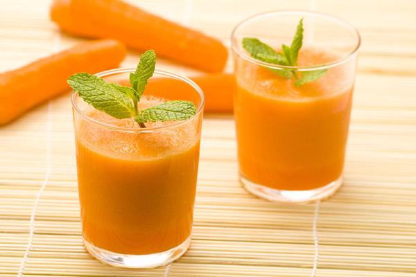Sinh tố cà rốt sữa tươi