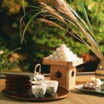 bánh trung thu nhật bản - bánh tsukimi dango