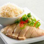 cơm gà hải nam phong cách singapore