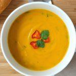 sup chay đậu lăng