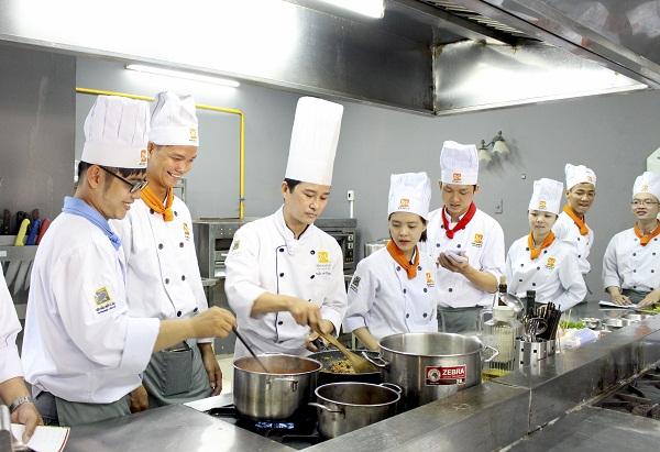 phương pháp dạy nấu ăn đặc biệt