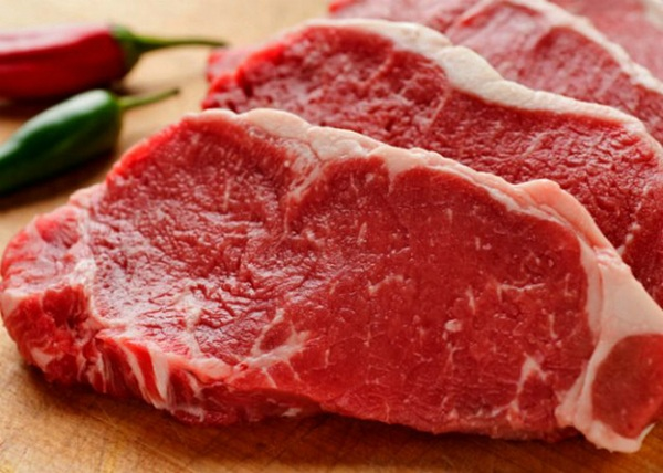 Không nên thịt bò để tránh sẹo lồi