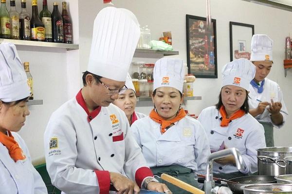 học nấu ăn chay tại trung tâm dạy nấu ăn