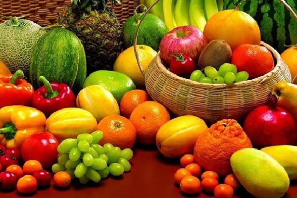 khẩu phần ăn các loại rau củ