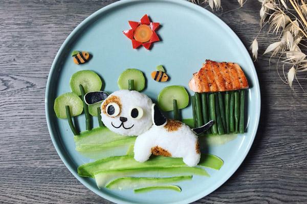 Cắt tỉa trang trí món ăn cho bé