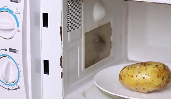 Nướng khoai tây