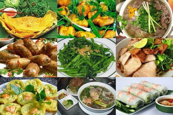 Ẩm thực Việt Nam phong phú,