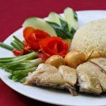 Món cơm gà Thượng Hải