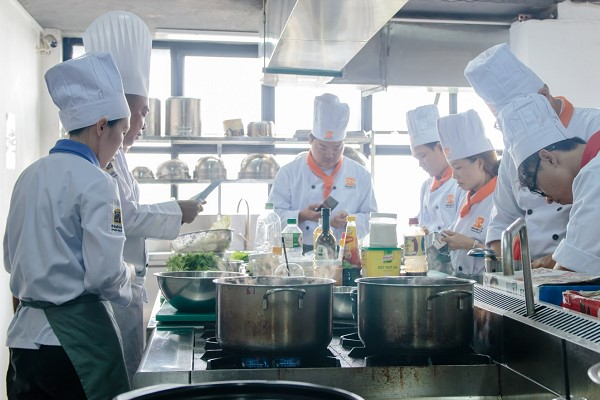 học nghề Bếp chuyên nghiệp