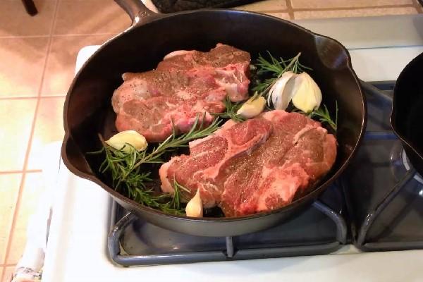 Áp chảo thịt bò