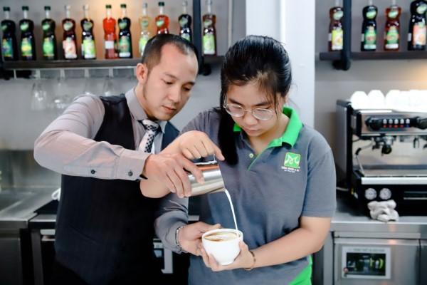 lớp học latte art
