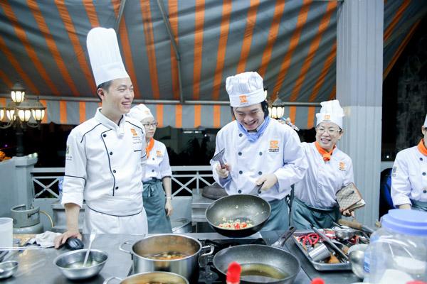 lớp nấu ăn chuyên nghiệp