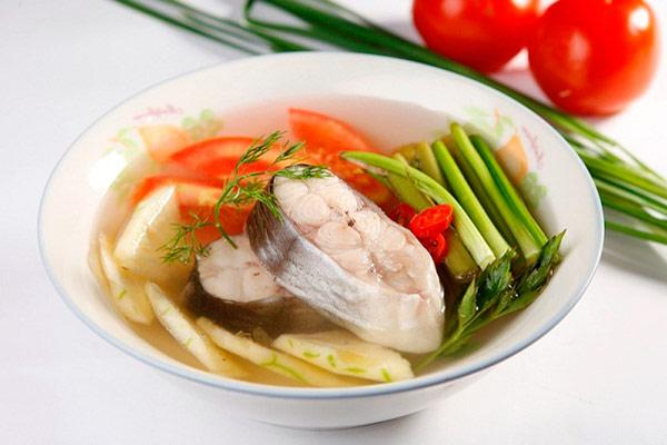 canh chua cá ngát