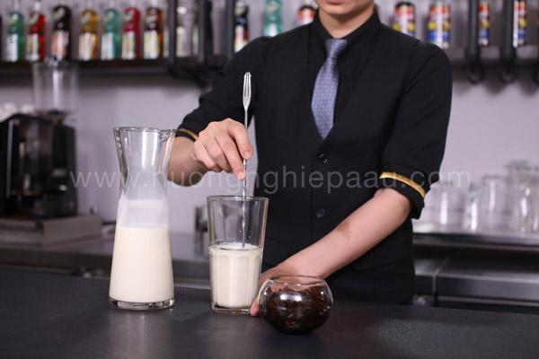 Làm trà sữa đơn giản