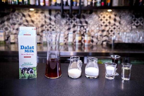 Nguyên liệu làm trà sữa kem muối