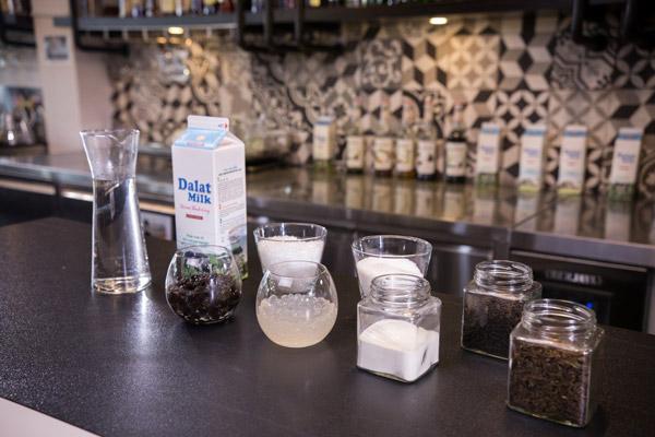 nguyên liệu pha chế trà sữa trà đen