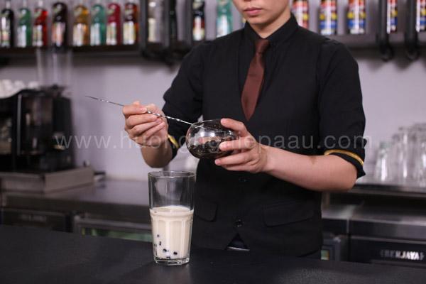 Trân châu đen giúp trà sữa thêm đậm đà