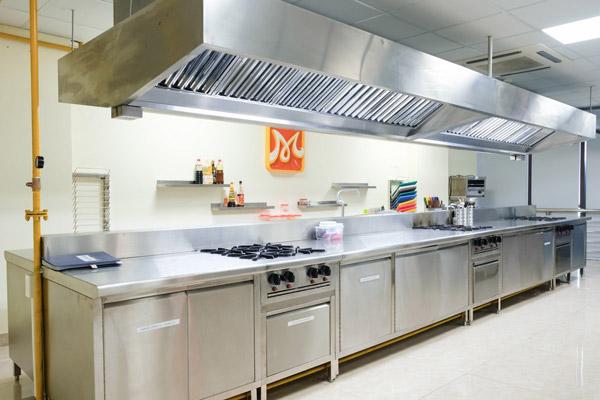 Không gian bếp một chiều