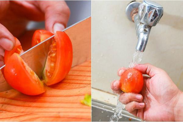ngâm cà chua với đường