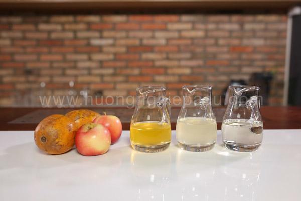 Nguyên liệu pha chế nước ép cóc táo