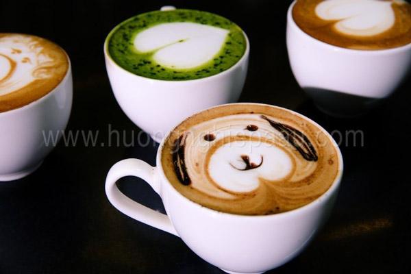 tạo hình latte art