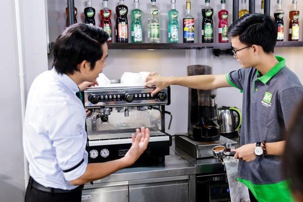 Trang thiết bị phòng thực hành latte