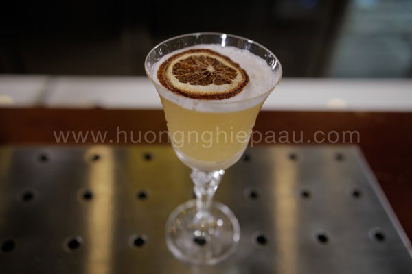 Cocktail American Nut Sour